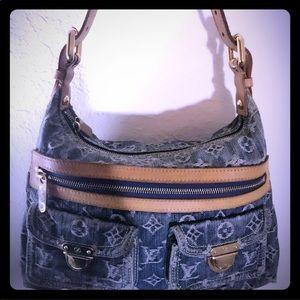 Louis Vuitton Denim BuggyPM Shoulder Bag